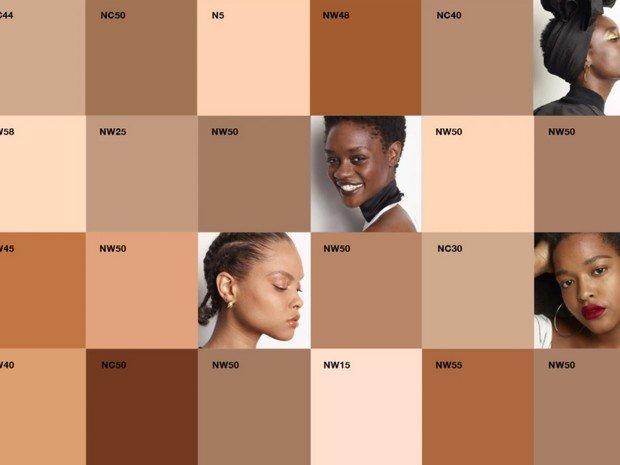 رنگ کرمپودرت رو انتخاب کن